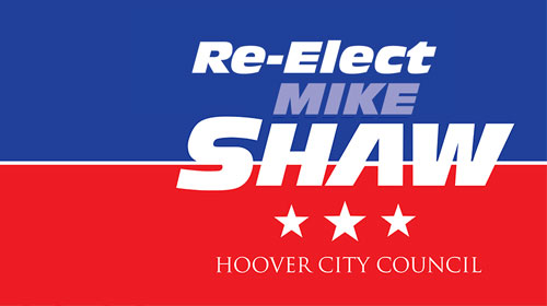 Mike Shaw for Hoover City Council